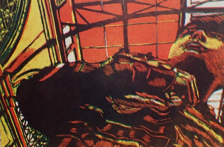 "Artwork ""Connors Gaze"" by Daryl DePry"