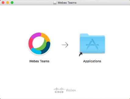 Screen shot showing mac application folder