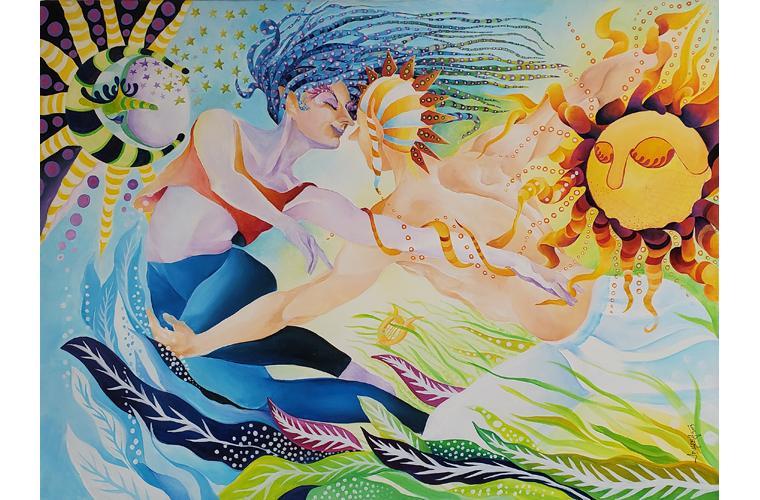 "Juan de Dios Varela Artwork ""Terpsicore"""