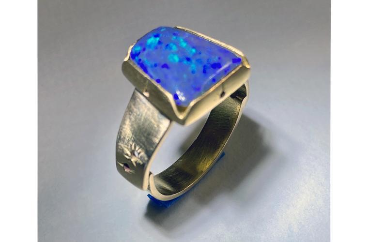 """Artwork """"Ring"""" by Joanne Vuillemot"""