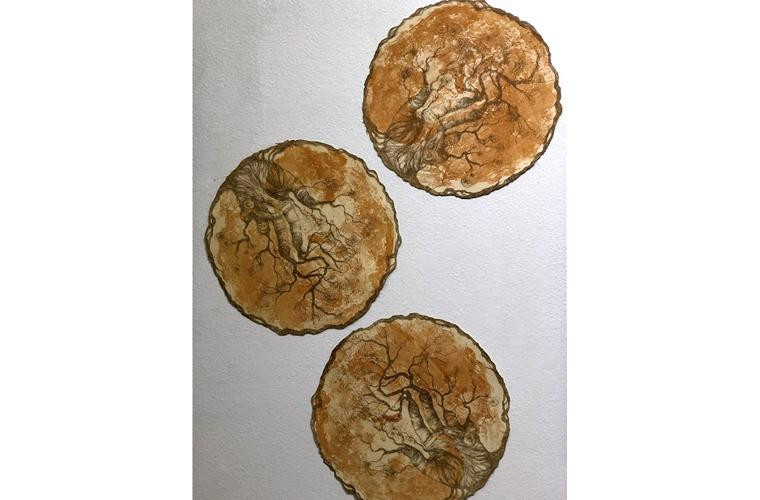 "Artwork ""Circuitous Cycles"" by Anne M. Hoff"