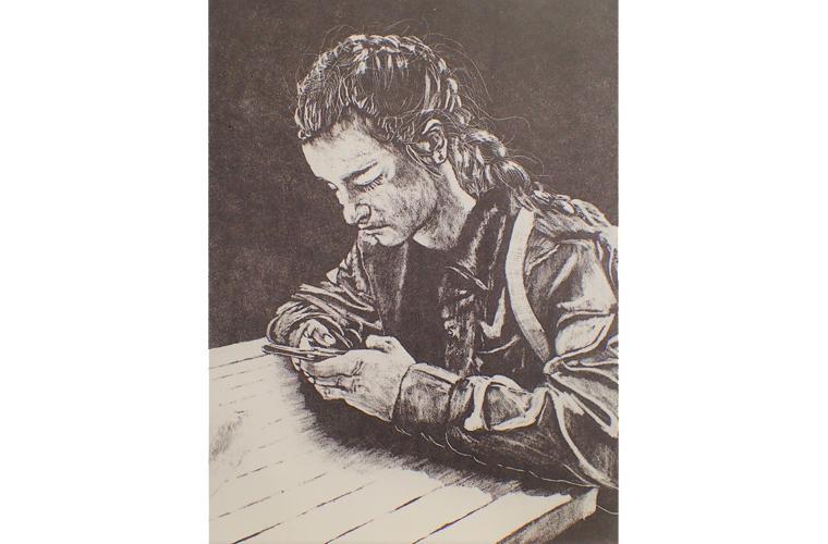 "Artwork ""Vayda's Distraction"" by Daryl DePry"