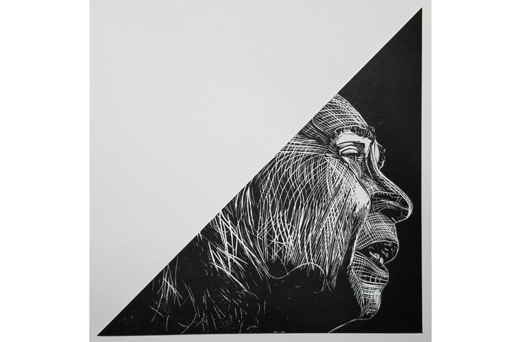 "Artwork ""Mum's Alzheimer's 2020 - Mary Ann Stuck"" by Elizabeth Klimek"