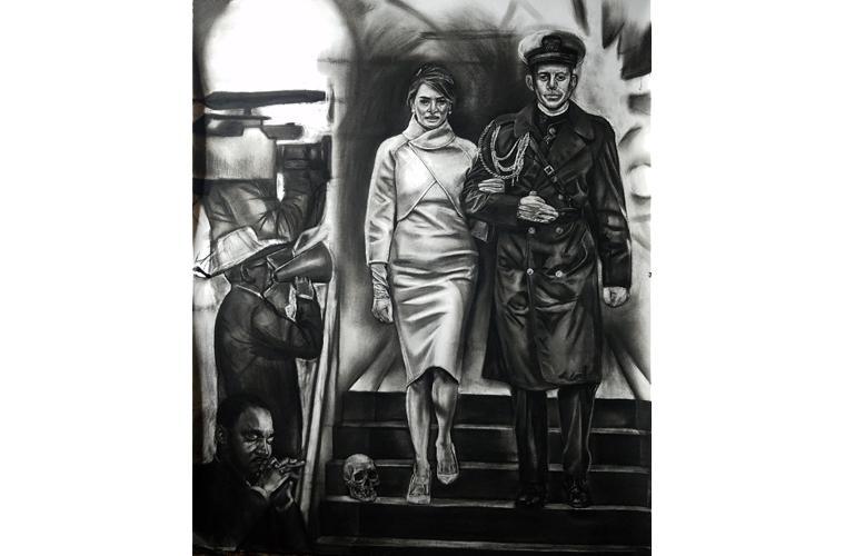 "Artwork ""Camelot"" by Orlando Montenegro-Cruz"