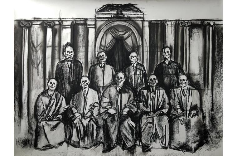 "Artwork ""Old Boys"" by Orlando Montenegro-Cruz"