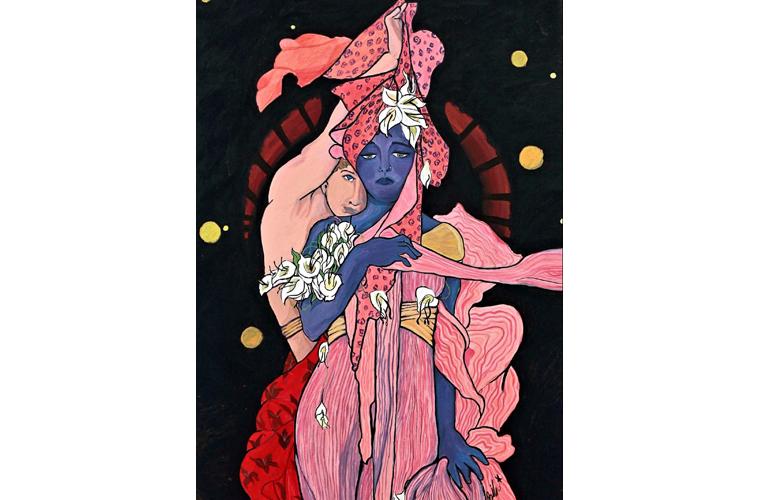 "Zahra Bilal Artwork ""Untitled"""