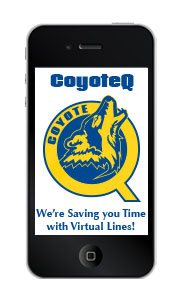 CoyoteQ is available on your smartphone