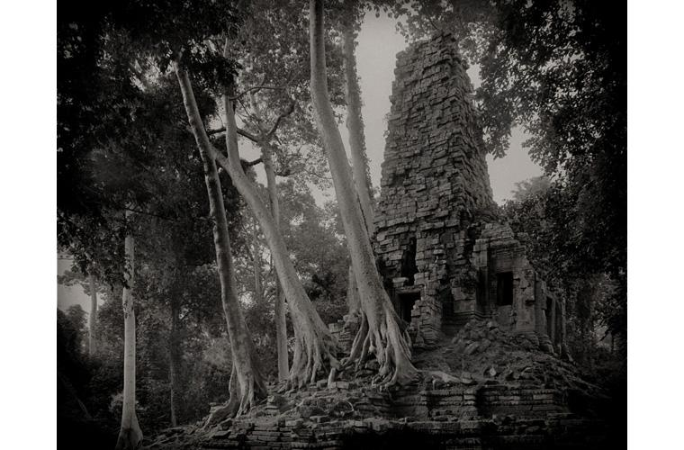"""Artwork """"Preah Palilay, Buddhist Temple, Angkor, Cambodia"""" by Fred Sigman"""