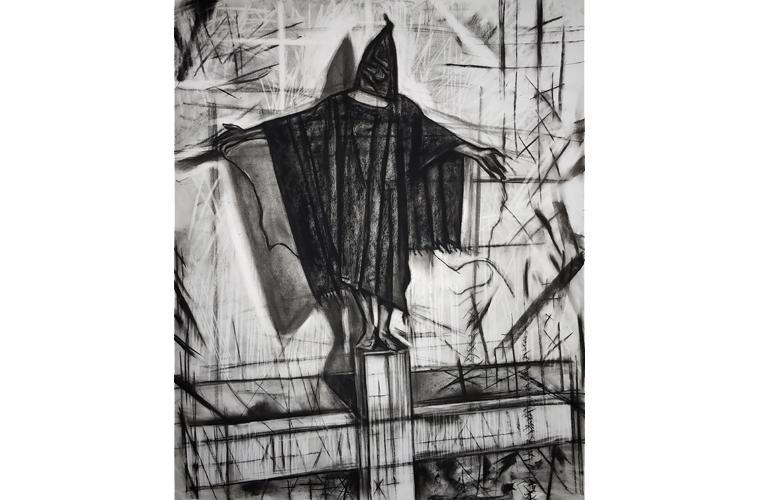 "Artwork ""The Saint"" by Orlando Montenegro-Cruz"