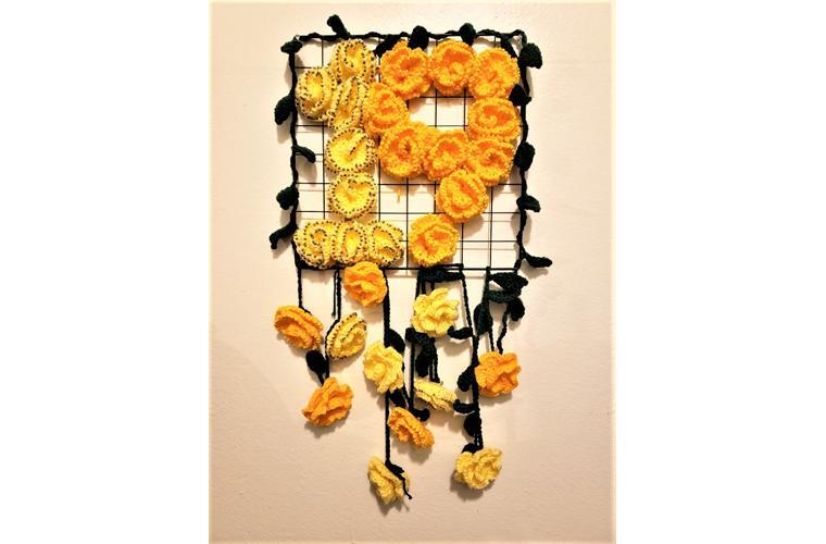 """Ailene Pasco Artwork """"A War of Roses"""""""