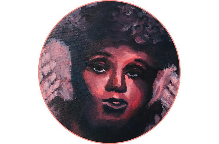 """Zahra Bilal Artwork """"Time for a Break"""""""