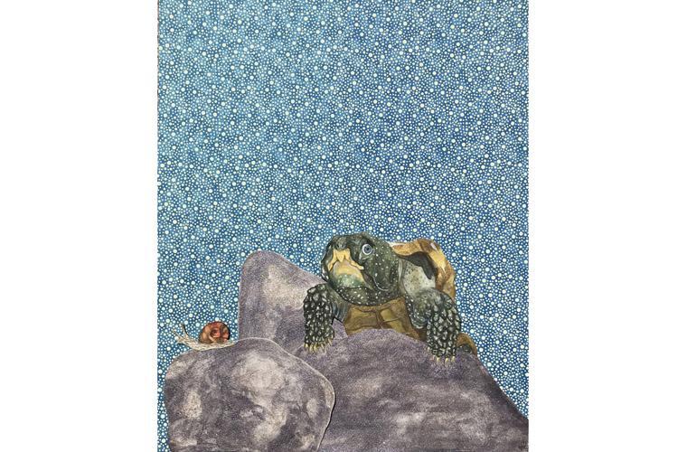 "Artwork ""Big Head of the Rocks"" by Myranda Bair"