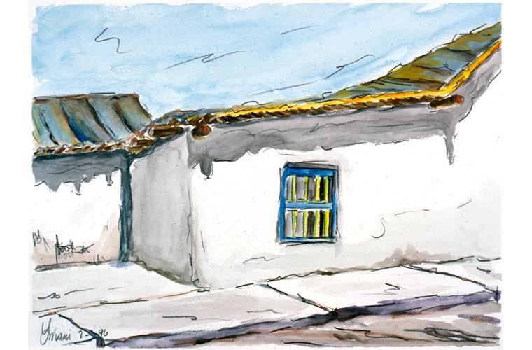 "Artwork ""House in Fisherman Village—Venezuela"" by Alfonso Lirani"