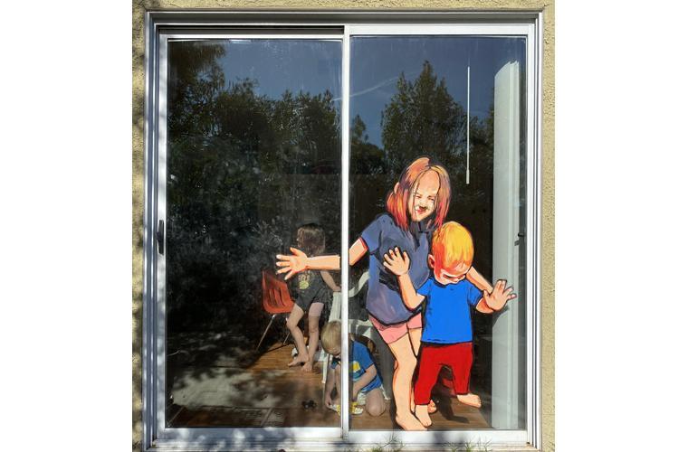 "Lilia Todd Artwork ""Distance Display"""