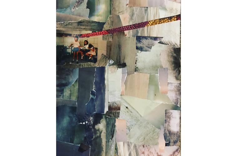 """Jeannie Hua Artwork """"The Race, Competition or Ethnicity: Collage 1"""""""