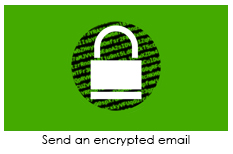 Send An Encrypted Email Graphic