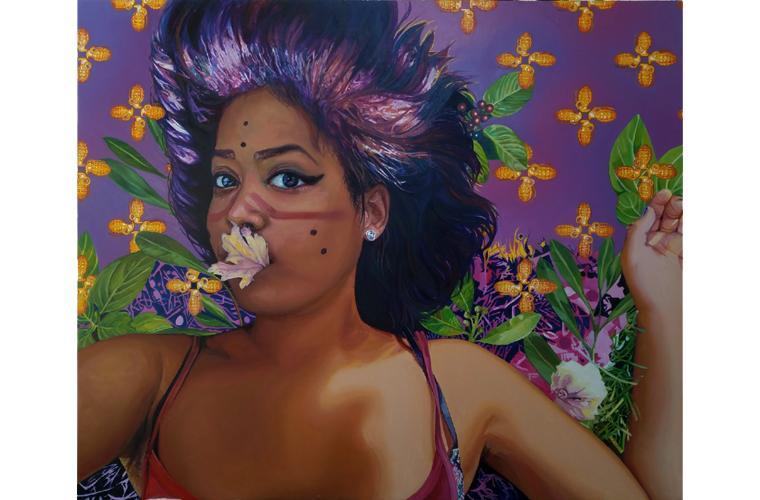"Artwork ""QCelleration"" by Lolita Develay"