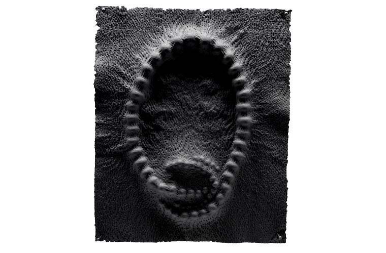 "Artwork ""Strain (#4)"" by Chris Bauder"