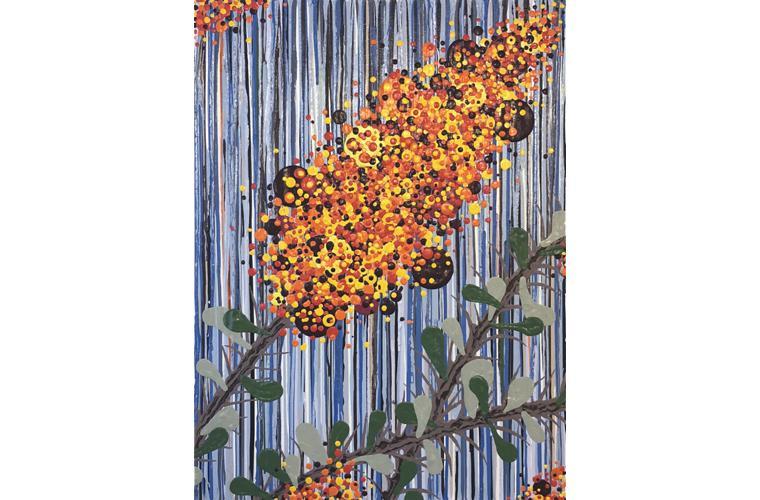 Artwork Desert Coral by Jeff Fulmer