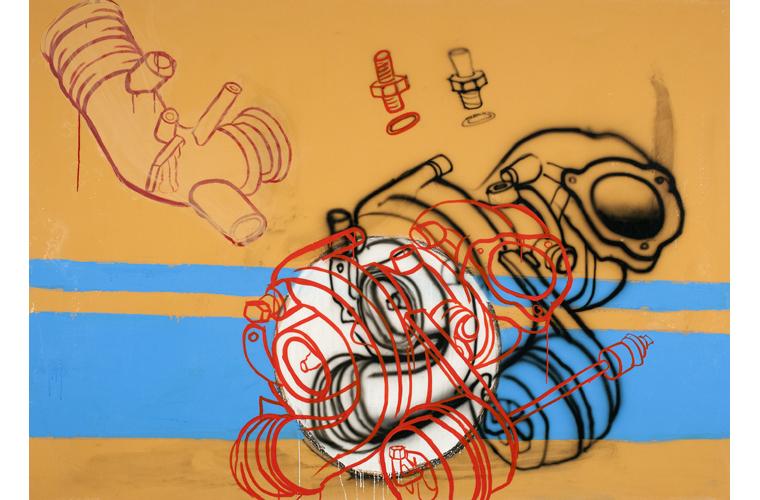 """Daniel Cope Artwork """"Over Rover"""""""