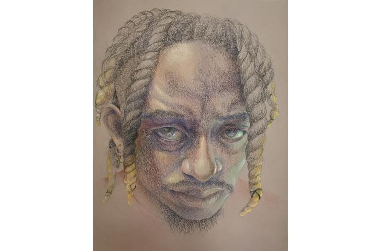 "Artwork ""Casey II"" by Suzanne Acosta"