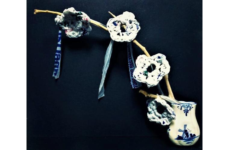 """Ailene Pasco Artwork """"Plastic and Porcelain"""""""