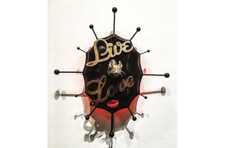 """Artwork """"Live Lust"""" by Chris Bauder"""