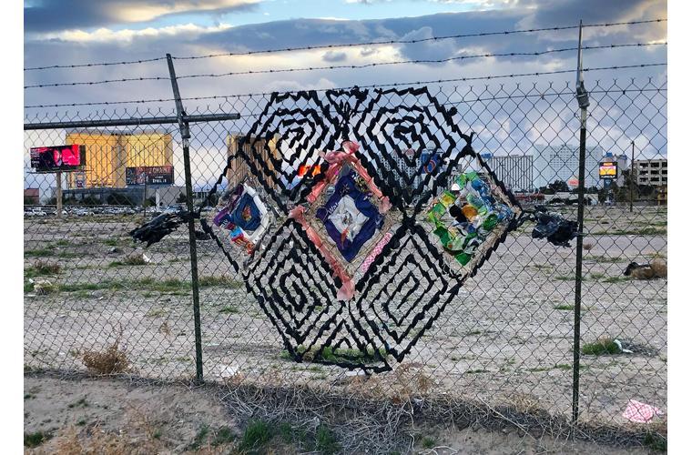 """Lilia Todd Artwork """"Near the Strip"""""""