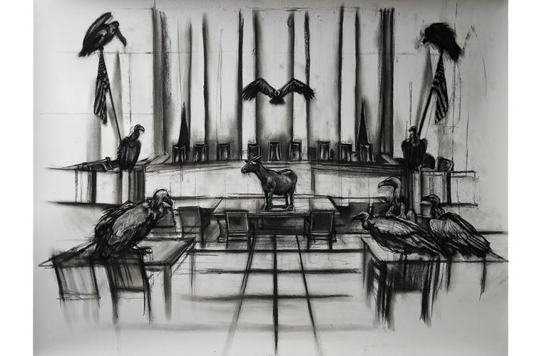 "Artwork ""The Offering"" by Orlando Montenegro-Cruz"