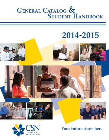2014-2015 General Catalog & Student Handbook