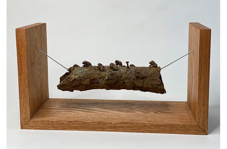 """Ross Takahashi-Brummer Artwork """"Suspension"""""""