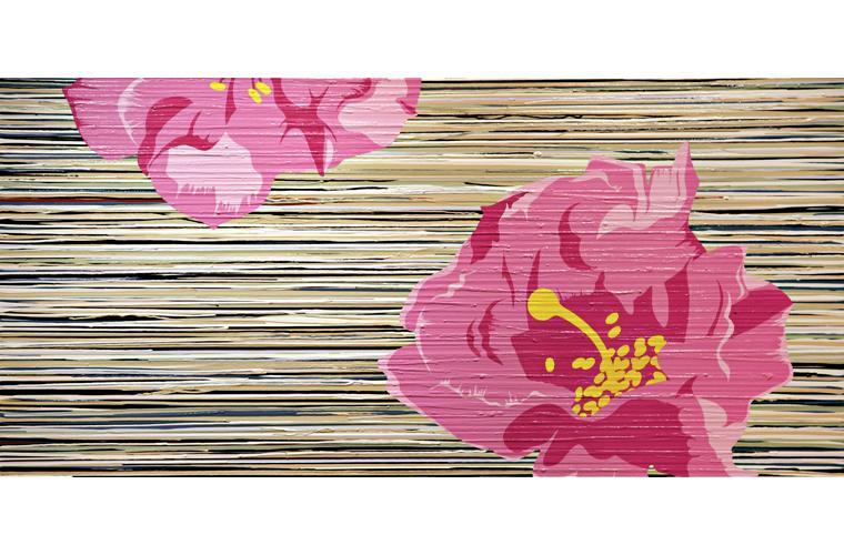 Artwork Beavertail Blossom by Jeff Fulmer