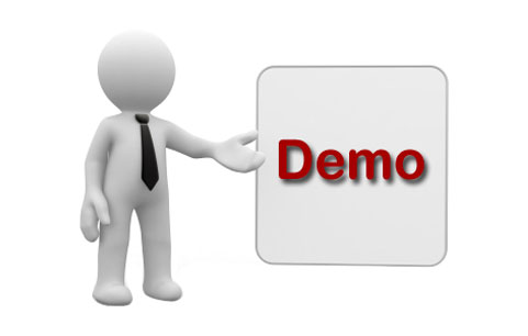 Contact the OTS help desk for a room demo