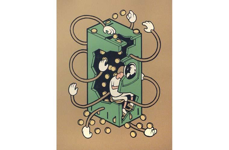 """Artwork """"Student Loans"""" by Daniel Ogletree"""