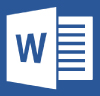 MS Word icon