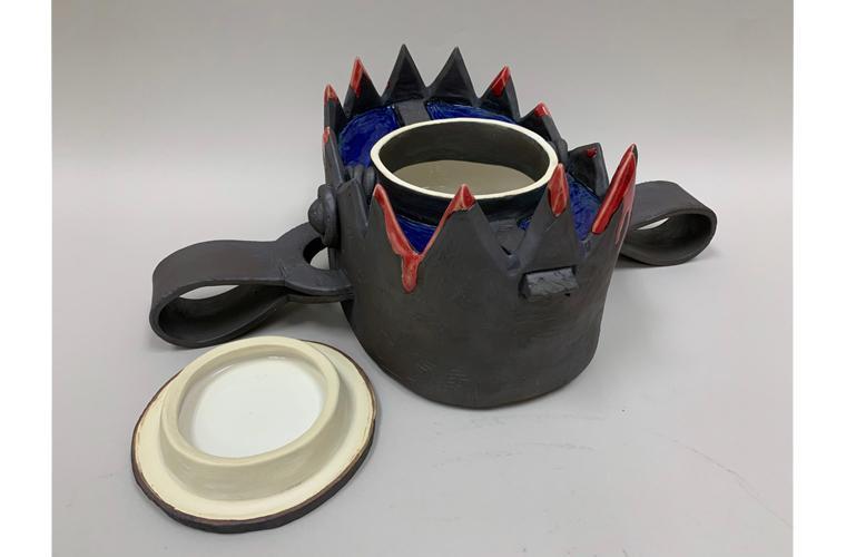"Artwork ""Bear Trap Cookie Jar"" by Benjamin Johnsen"